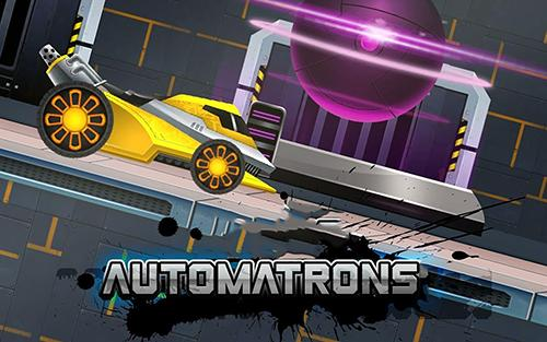 Automatrons: Shoot and drive poster