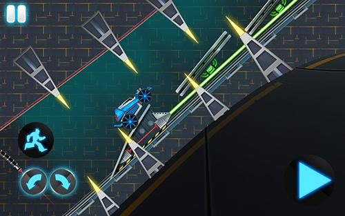 Screenshots von Automatrons: Shoot and drive für Android-Tablet, Smartphone.