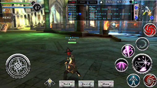 Screenshots von Avabel online RPG für Android-Tablet, Smartphone.