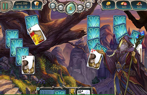 Avalon legends solitaire 2 screenshot 2