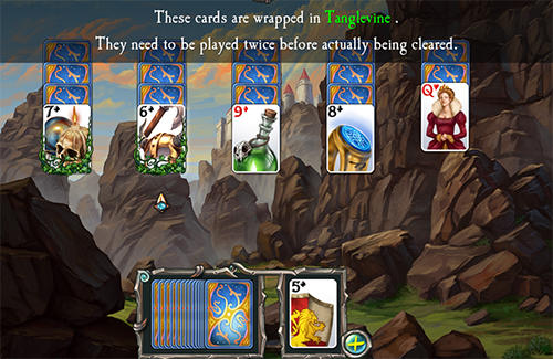 Screenshots do Avalon legends solitaire 2 - Perigoso para tablet e celular Android.