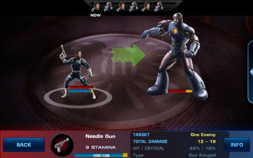 Kostenloses Android-Game Avengers: Allianz. Vollversion der Android-apk-App Hirschjäger: Die Avengers: Alliance für Tablets und Telefone.