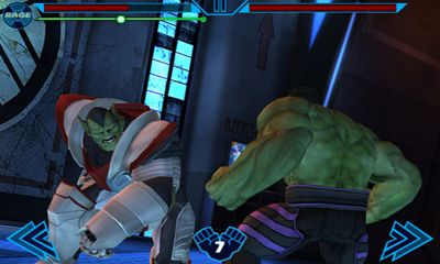 Screenshots von Avengers Initiative für Android-Tablet, Smartphone.
