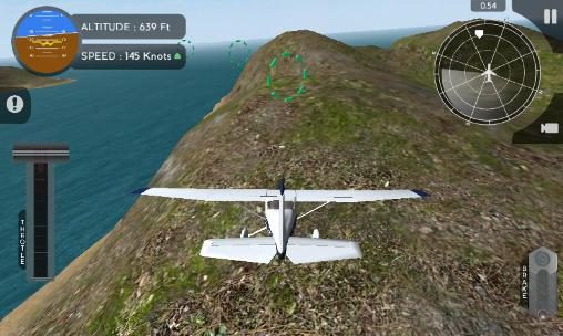 Capturas de pantalla de Avion flight simulator 2015 para tabletas y teléfonos Android.