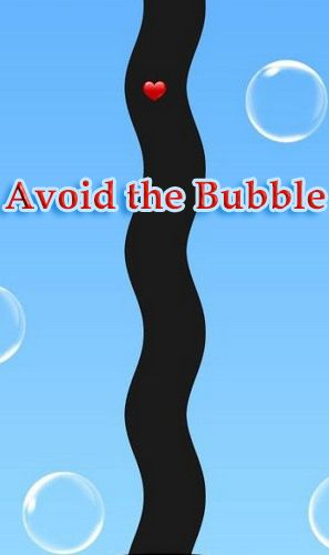 Avoid the bubble poster