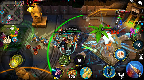 Screenshots von Awakening of heroes: MOBA 5V5 für Android-Tablet, Smartphone.
