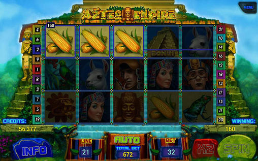 Гра Aztec empire: Slot на Android - повна версія.