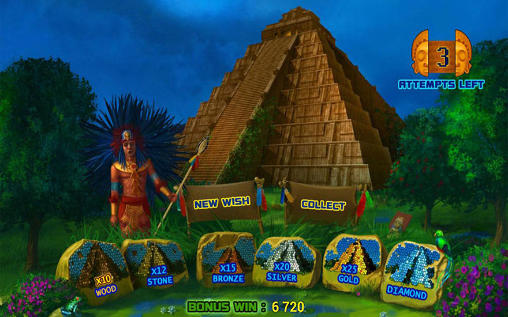 Геймплей Aztec empire: Slot для Android телефону.