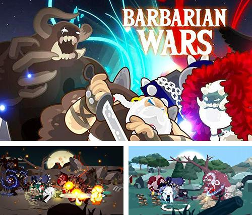 Barbarian wars: A hero idle merger game
