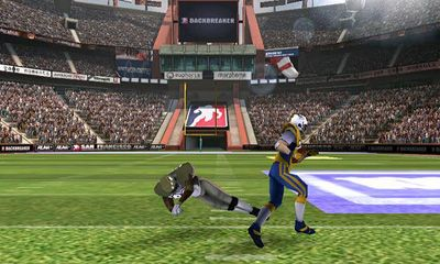 Screenshots von Backbreaker 2 Vengeance für Android-Tablet, Smartphone.