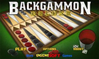 Backgammon Deluxe poster