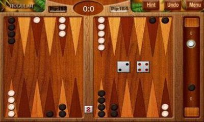 Backgammon Deluxe скриншот 2
