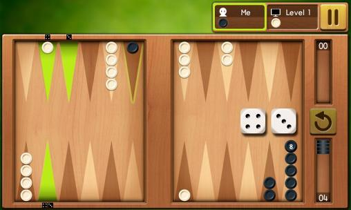 Juega a Backgammon king para Android. Descarga gratuita del juego Backgammon: Rey.