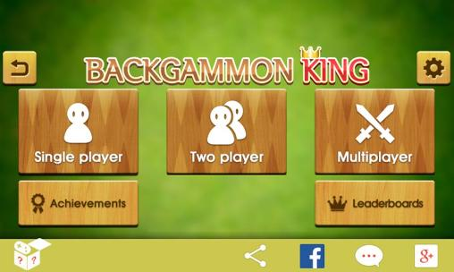 Screenshots do Backgammon king - Perigoso para tablet e celular Android.