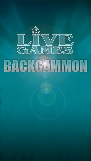 Backgammon: Live games