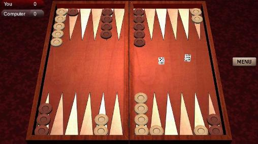 Screenshots von Backgammon mate für Android-Tablet, Smartphone.