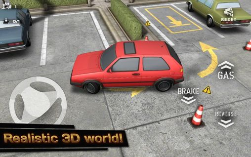 Гра Backyard parking 3D на Android - повна версія.