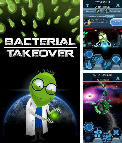 Bacterial takeover: Idle clicker