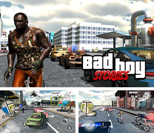 In addition to the game Old west: Sandboxed western for Android phones and tablets, you can also download Bad boy stories for free.