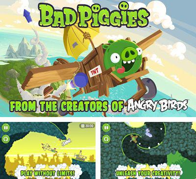 In addition to the game Angry Birds for Android phones and tablets, you can also download Bad Piggies for free.