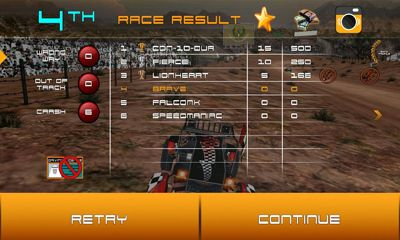 Screenshots von Badayer Racing für Android-Tablet, Smartphone.