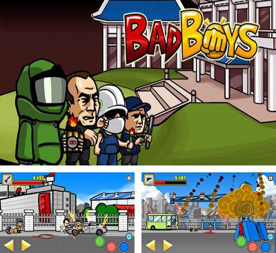 In addition to the game Cubemen for Android phones and tablets, you can also download BadBoys for free.