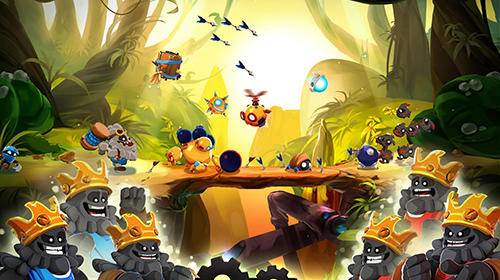 Screenshots von Badland brawl für Android-Tablet, Smartphone.