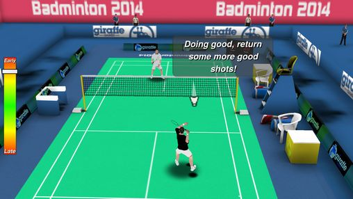 Screenshots do Badminton 3D - Perigoso para tablet e celular Android.