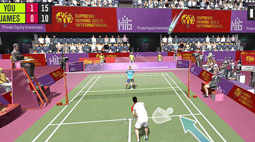 Screenshots von Badminton battle: Badminton championship für Android-Tablet, Smartphone.