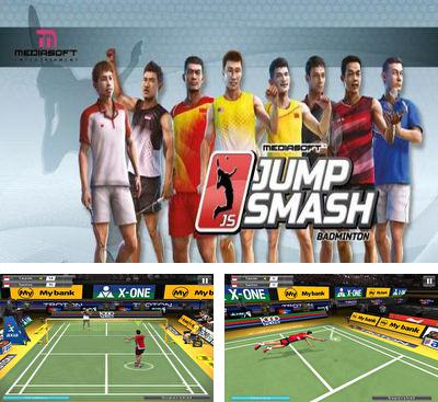 In addition to the game Volleyball: Extreme edition for Android phones and tablets, you can also download Badminton Jump Smash for free.