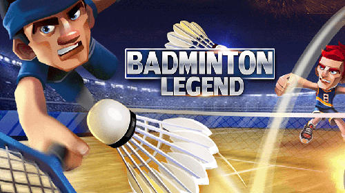 Badminton legend poster