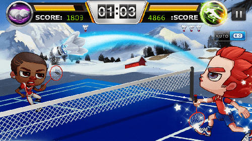 Screenshots von Badminton legend für Android-Tablet, Smartphone.