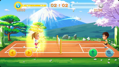 Screenshots von Badminton star 2 für Android-Tablet, Smartphone.