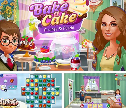 Bake a cake puzzles and recipes
