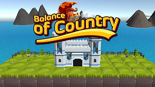 Balance of country poster
