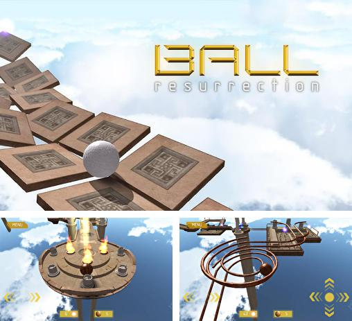 In addition to the game Glyder 2 for Android phones and tablets, you can also download Ball: Resurrection for free.