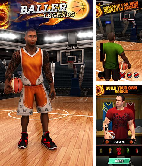 Baller legends: Basketball for Android - Download APK free