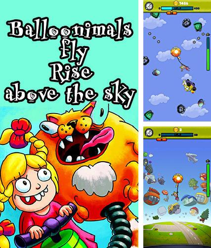 Balloonimals fly: Rise above the sky