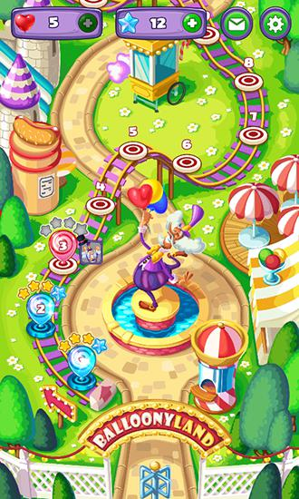 Download Balloony land Android free game.