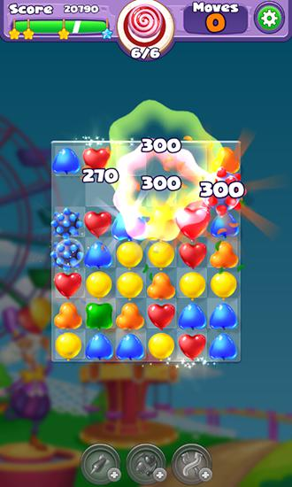 Screenshots of the Balloony land for Android tablet, phone.