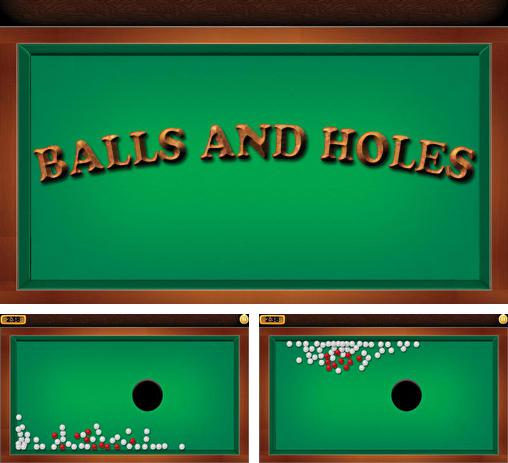 Balls and holes