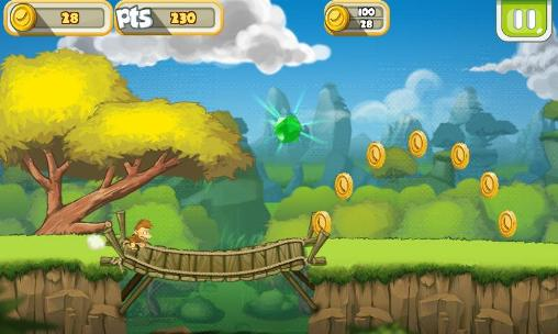 Screenshots von Banana island: Bobo's epic tale für Android-Tablet, Smartphone.