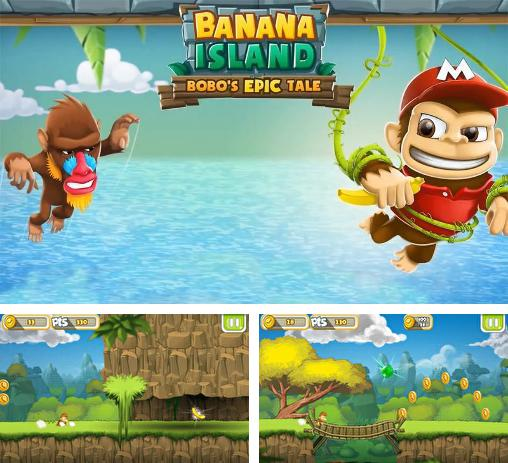 In addition to the game Benji Bananas for Android phones and tablets, you can also download Banana island: Bobo's epic tale for free.