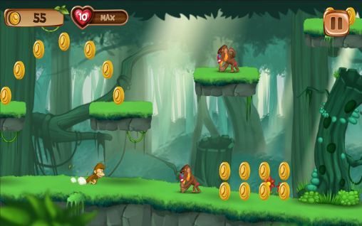 Baixe o jogo Banana island: Jungle run para Android gratuitamente. Obtenha a versao completa do aplicativo apk para Android Banana island: Jungle run para tablet e celular.