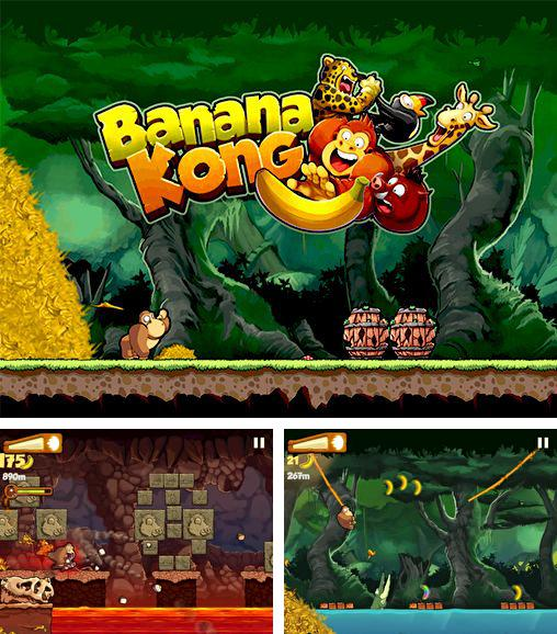 In addition to the game Tap Tap Glider for Android phones and tablets, you can also download Banana Kong for free.