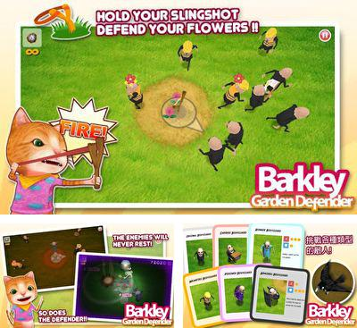 In addition to the game Lame Castle HD for Android phones and tablets, you can also download Barkley Garden Defender for free.