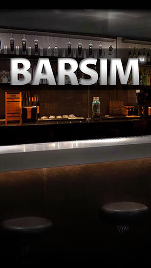 Bartender game: Bar sim poster