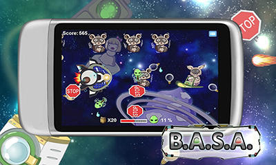 Screenshots of the B.A.S.A for Android tablet, phone.