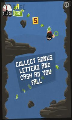 Screenshots of the B.A.S.E. Jumper for Android tablet, phone.