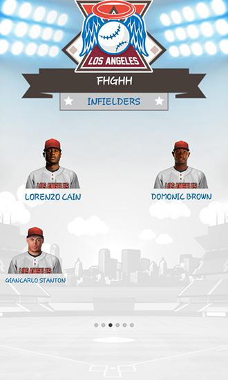 Screenshots von Baseball general manager 2015 für Android-Tablet, Smartphone.